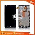 100% original para nokia lumia 1520 display lcd touch screen digitador assembléia com frame frete grátis
