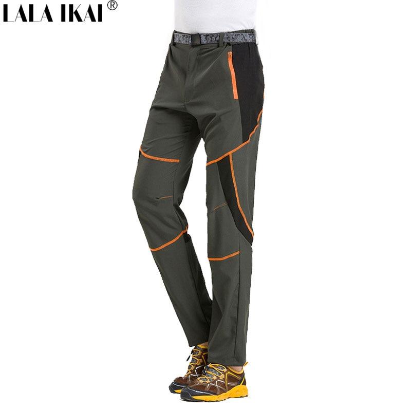 LALA IKAI Summer Trekking Pants Men Outdoor Sports Camping ...