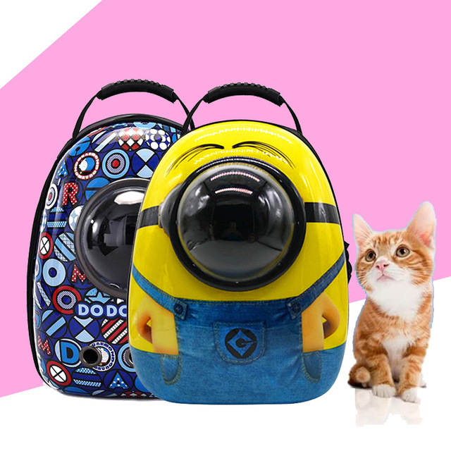 Space Capsule Astronaut Pet Cat Backpack Bubble Window for Kitty Puppy  Chihuahua Small Dog Carrier Crate Outdoor Travel Bag Cave d7d433cb03372