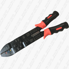 Multi-functional terminals hand tool crimping pliers wire stripper multi tools crimping tools crimping pliers practical multi functional wire stripper for electrician tools cutting fs 051