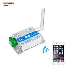 Беспроводной GSM SMS Пульт дистанционного управления беспроводной Интеллектуальный коммутационный модуль CL2-GSM 2 способ релейный выход для автоматические качели раздвижные ворота открывания двери