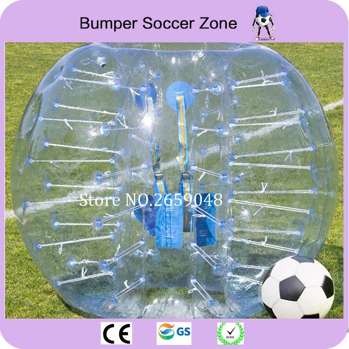 Envío gratis 1.5 m PVC para adultos inflable burbuja balón de fútbol inflable humano Hamster bola parachoques burbuja burbuja de fútbol