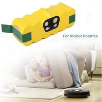 Pack de batería recargable para Roomba Serie 500 14 4 V Ni MH 3500mah para aspiradora de barrido iRobot 600 780 R3 80501 4419696|Baterías recargables| |  -