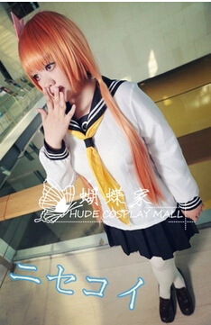 Free shipping Japan font b Anime b font Nisekoi font b Cosplay b font Tachibana Marika