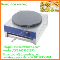 Snack machine mini electric hot plate crepe pancake maker commercial rotating stick electric crepe maker and hot plate