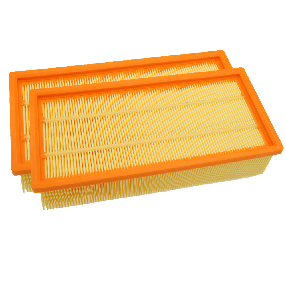 2pcs Air Filter Vacuum Cleaner Replacement parts For KARCHER NT65/2 eco ap NT72/2 eco tc NT75/2 ap me tc Part Filters Oil-proof ntnt free post 1 pcs new replacement for karcher nt 65 2 eco ap te 72 2 eco tc nt75 2 ap me tc vacuum cleaner filter