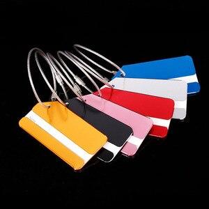 OKOKC الألومنيوم سبائك علامات للأمتعة الأمتعة اسم الكلمات حقيبة عنوان التسمية حامل إكسسوارات السفر