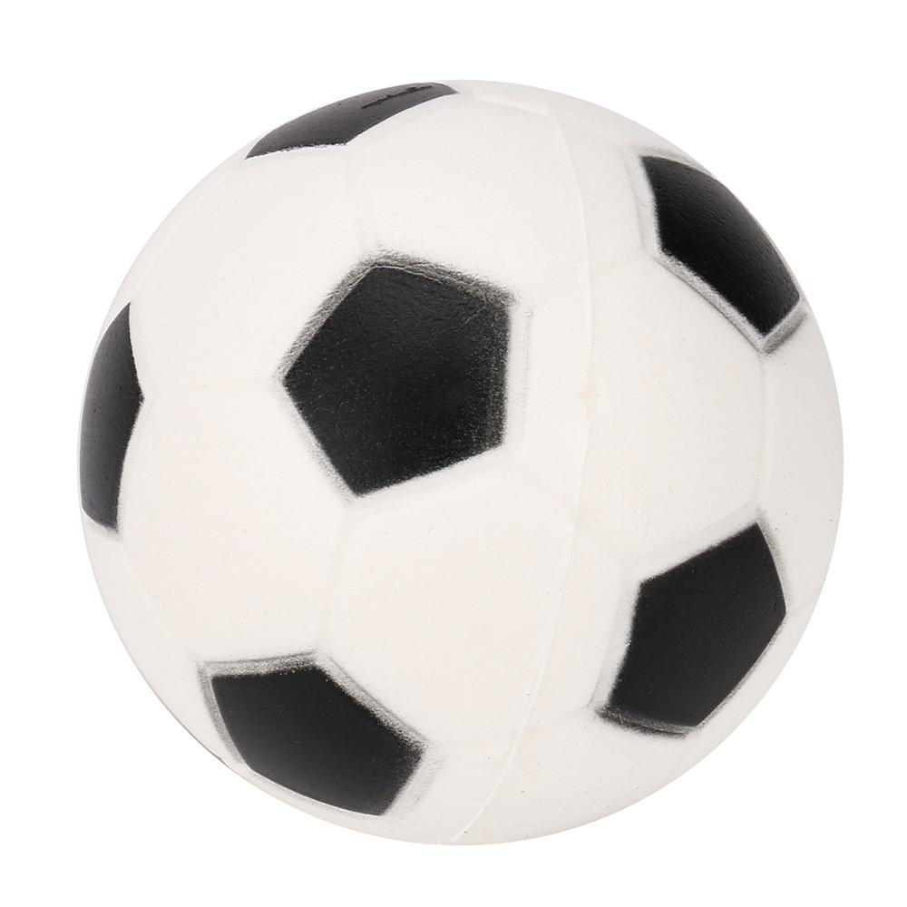 PU Football Ball Squishy Slow Rising Cream Scented Decompression Kid Squeeze Toy Gift Stre
