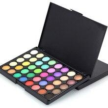 Cosmetic Matte Eyeshadow Cream Makeup Palette Shimmer Set 40 Color+ Brush Set  0510MZH