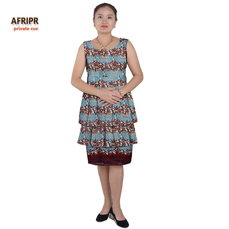 Nouveau robes africaines pour les femmes style de gâteau femmes - Vêtements nationaux - Photo 6