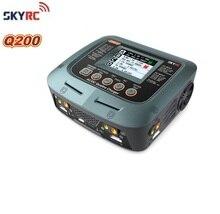 SKYRC Q200 1 כדי 4 אינטליגנטי מטען/פורק AC/DC עבור Lipo/LiHV/ליתיום ברזל/ליתיום יון/NiMH/NiCD/עופרת חומצת סוללה