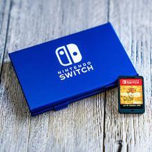 Aluminium Spiel Karte Lagerung Box für Nintendo Switch Game Karten Halter Tasche Hard Shell Hülle 6 in 1