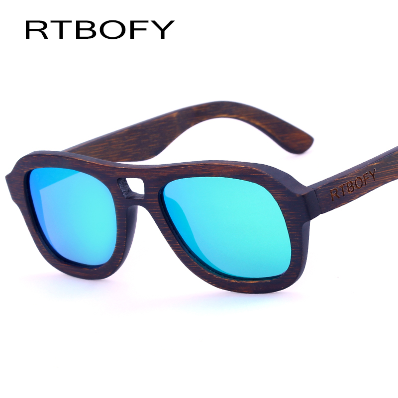 RTBOFY Ξύλινα γυαλιά ηλίου για άνδρες 2017 - Αξεσουάρ ένδυσης - Φωτογραφία 2