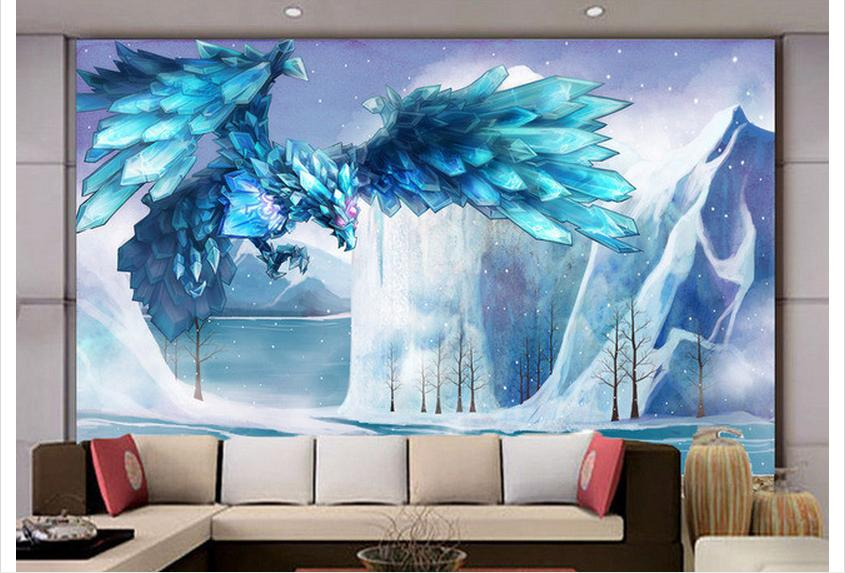 Aliexpress com   Buy Customized 3d wallpaper 3d wall murals wallpape  Cartoon frozen eagle sitting room bedroom wallpaper living rome photo  wallpaper from. Aliexpress com   Buy Customized 3d wallpaper 3d wall murals