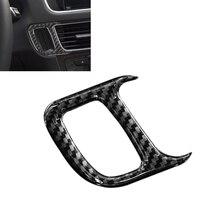 Per Audi Q5 2009 2010 2011 2012 2013 2014 2015 2016 2017 In Fibra di Carbonio Auto di Inizio del Motore Foro Chiave Cornice copertura