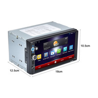 New With America Map RK 7721A Professional 7 Inch HD 1024 600 Capacitive Screen 7 Colorful