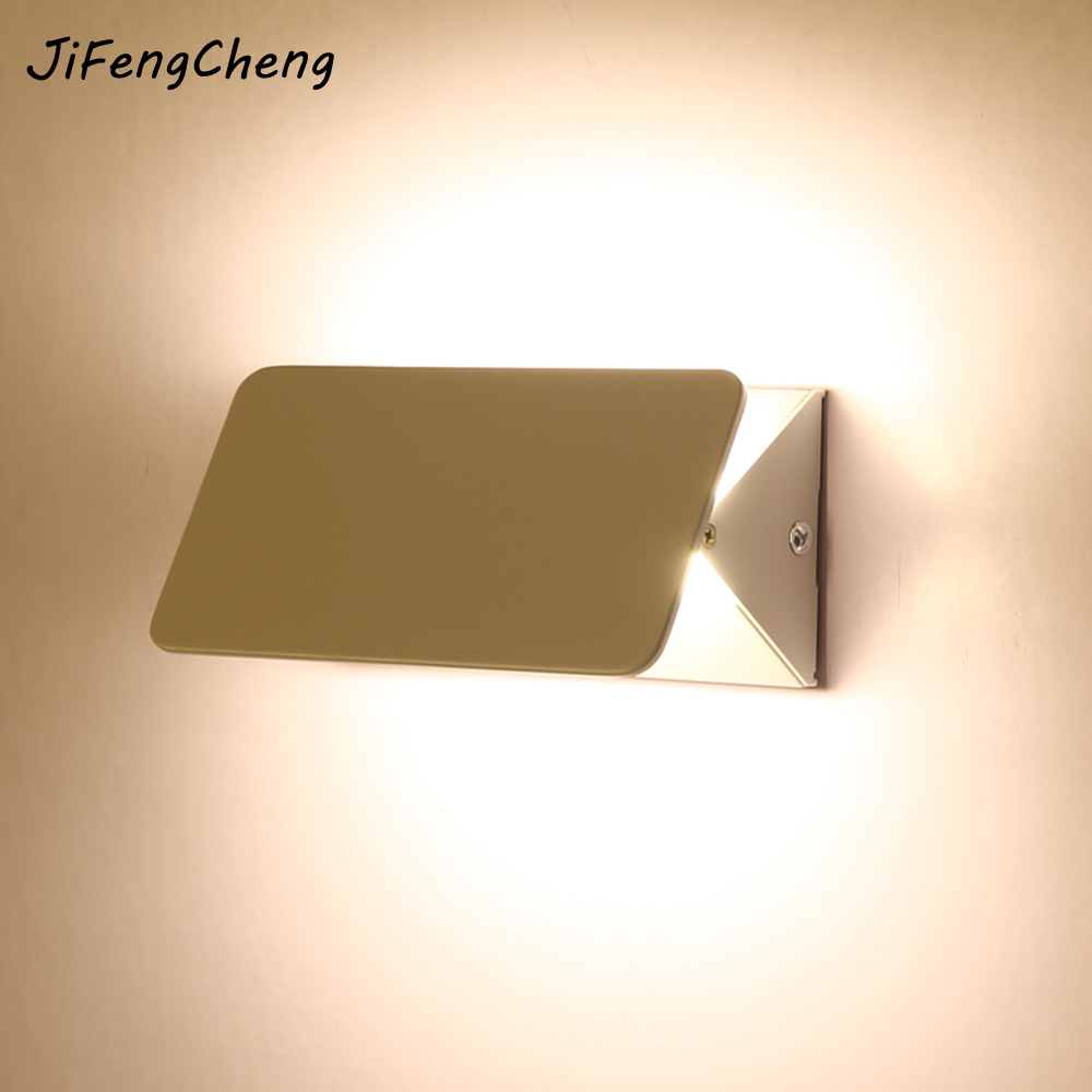 Modern Minimalist Wall Lamp Creative Personality Living Room Corridor Porch LED Aisle Hotel Bedroom Nordic Bedside Wall Lamp