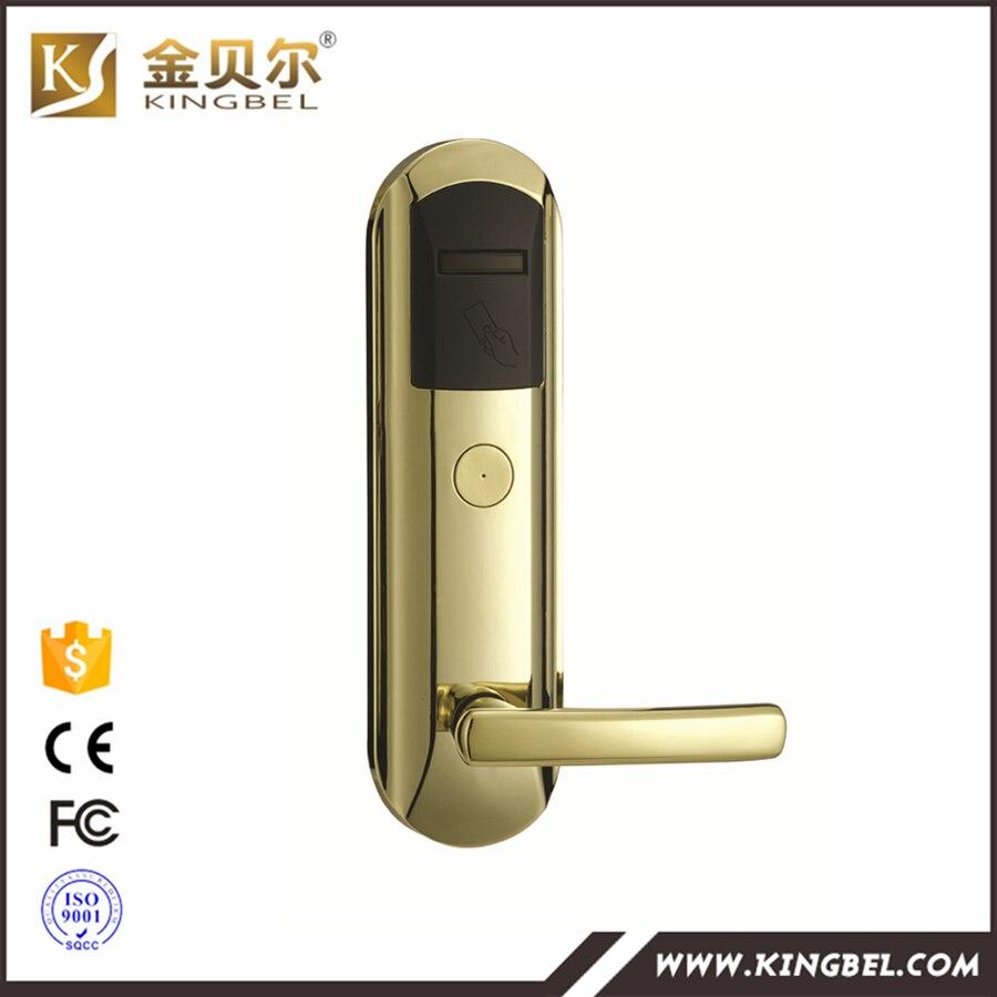 T5557 Card Sliding Door Biometric Digital Locks For Lockers In