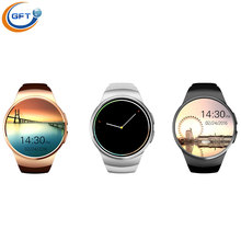 GFT kw18 font b Smartwatch b font Bluetooth Smart watch sim Wristwatch for Apple iPhone IOS