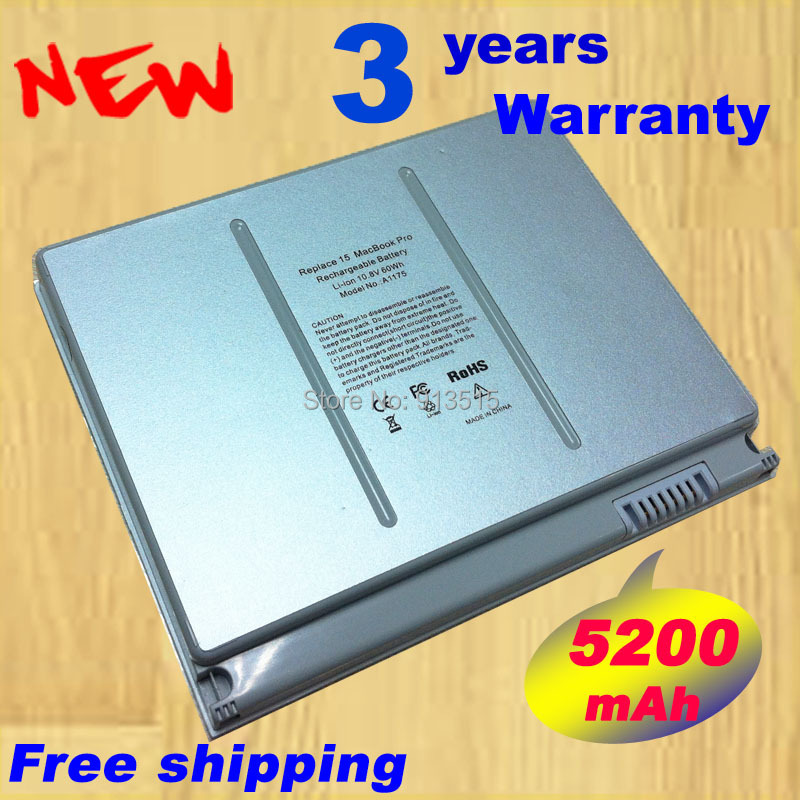 Gratis verzending! Laptop Batterij A1175 MA348 Voor Apple MacBook Pro - Notebook accessoires