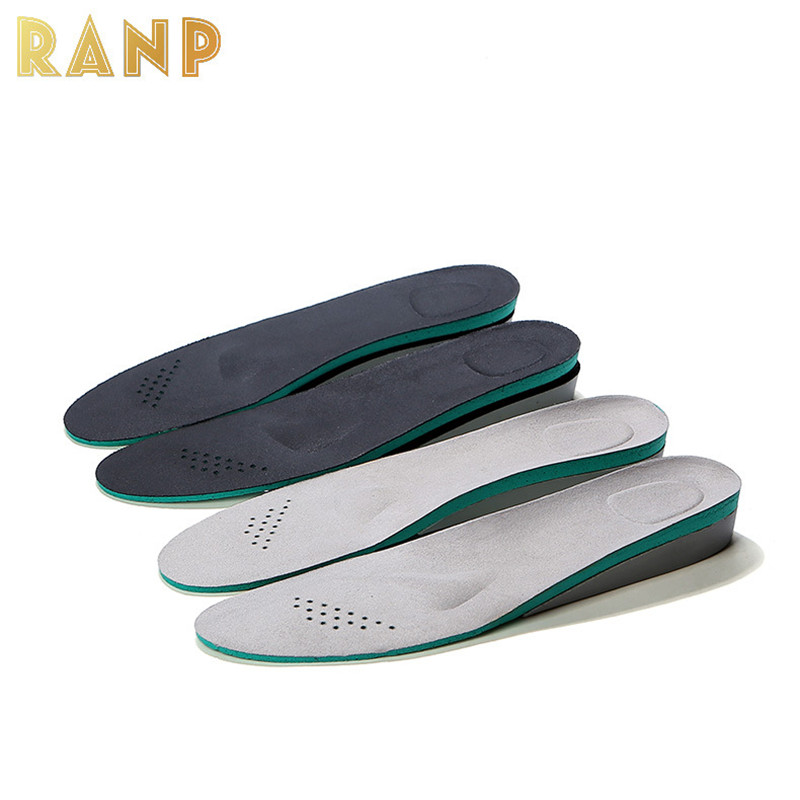 Height Increase Insoles Orthopedic Shock Absorption Shoe Pad Insert Foot Care Shoe Accessory Arch Support Men Women Dropshipping 2017 promotion gel insoles shock
