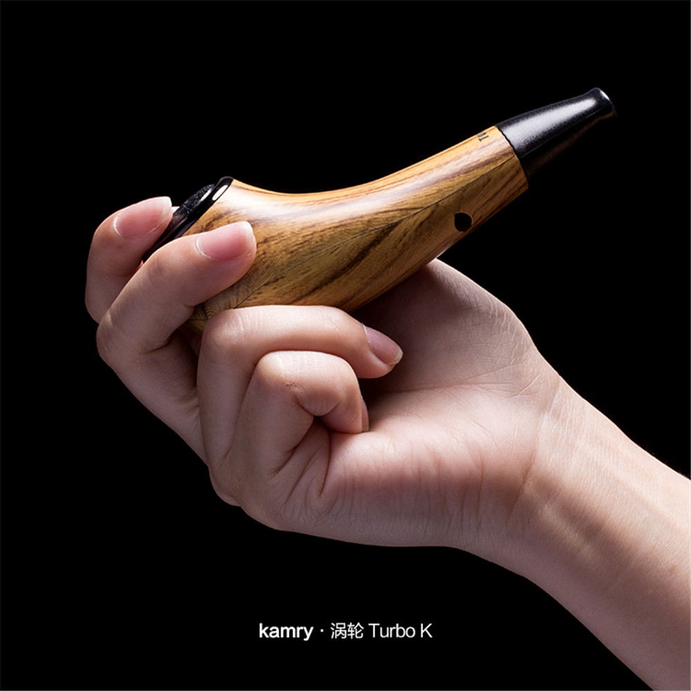 100% Original Kamry Electronic Cigarette Kit TurboK 35W E Pipe Vape Pen Huge Vapor 2.0ml Plug Type Atomizer Electronic Hookah