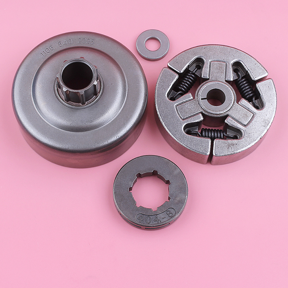 Clutch Drum  404 8 Teeth Sprocket Rim Assy For Stihl 070 Chainsaw Replacement Spare Part Chain Saw