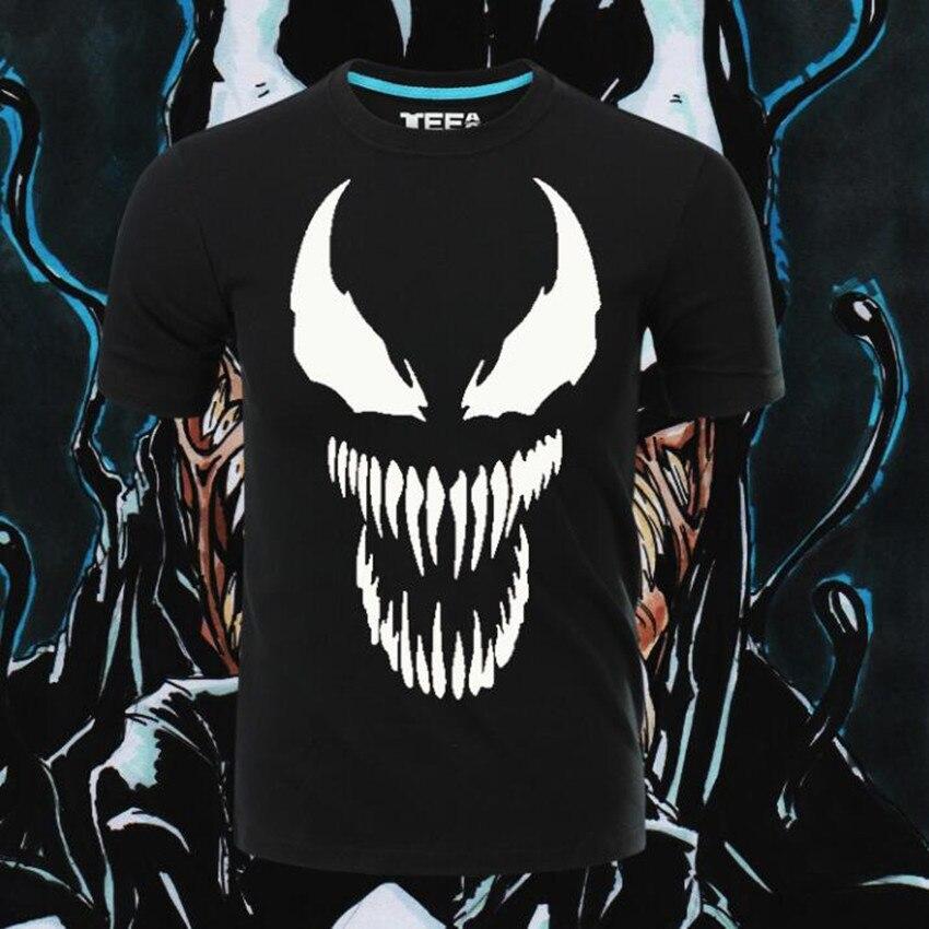 Esihou Woman Man Movie Spider-Man Villain VENOM Lovely Printing Custom Made T-shirt Tees Gift