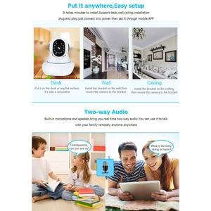 Image 5 - HD 3MP 1080P 무선 IP 카메라 와이파이 1536P 홈 보안 감시 카메라 CCTV 베이비 카메라 스마트 자동 추적