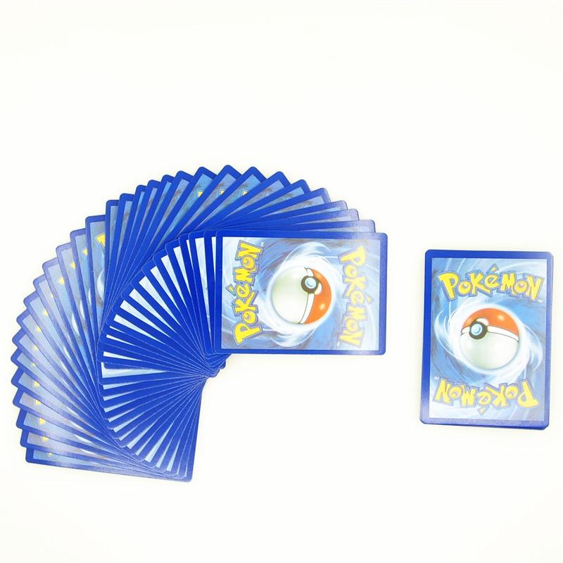 60Pcs Set Pokemon Cards EX MEGA Cards Games Playing English Carte Pokemon Pikachu Collectable Card Kids