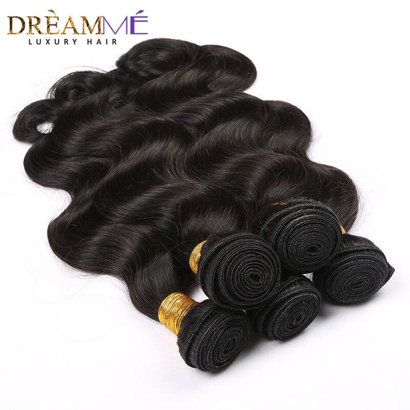 Brazil testhullám emberi hajhosszabbítás 100% Remy hajszövő - Emberi haj (fekete)