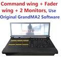 2016 Mais Novo Liga Do Comando do Console de Iluminação Fader Asa Asa Cópia MA Iluminação Dot 2 GrandMA2 OnPC Sistema de Software Original