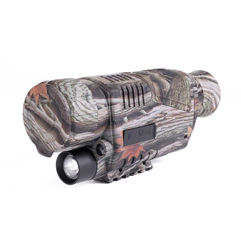 infravermelho hd spotting binocular para a caça de longa distância na noite
