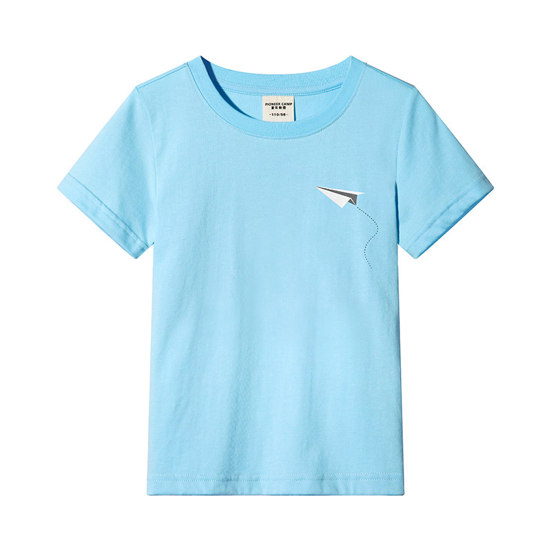 Pioneer kids new summer style t shirt for boys children clothing solid 100% cotton short sleeve t-shirt boys quality child teesPioneer kids new summer style t shirt for boys children clothing solid 100% cotton short sleeve t-shirt boys quality child tees