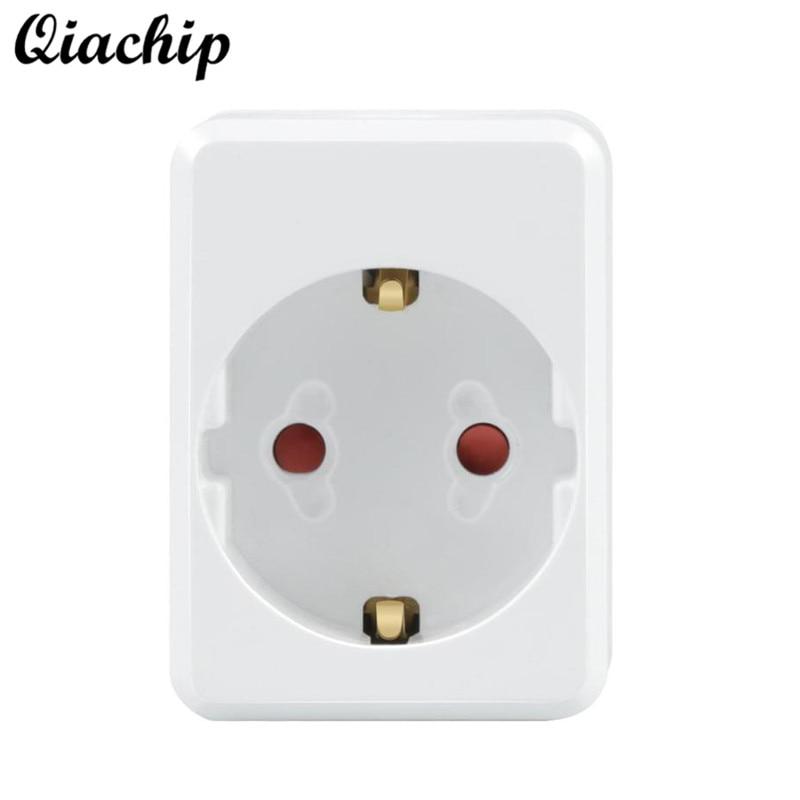 QIACHIP EU Plug WiFi Wireless Smart Home Socket App Remote Control Work With Amazon Alexa Google Home IFTTT Timing Socket цена 2017