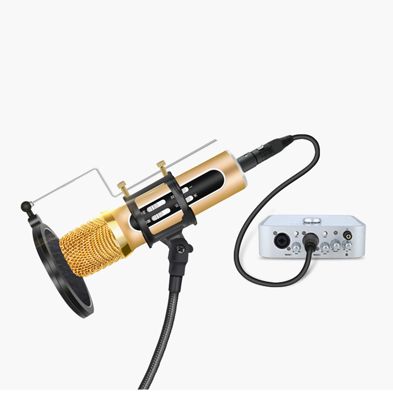HiFi XLR Jack Cable Karaoke Microphone Sound Speaker Cannon Audio Cable XLR Cable Male to Female Stereo TRS for Amplifier Mixer
