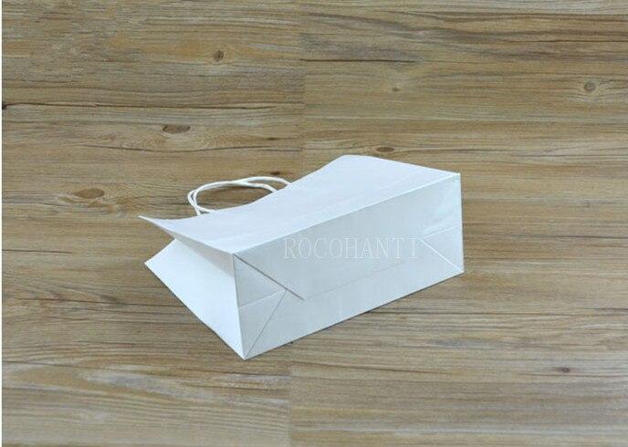 100x logotipo personalizado impresso saco de compras