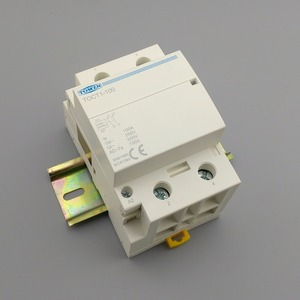 Image 4 - TOCT1 2P 100A 2NO 230V 50/60HZ Din rail Household ac Modular contactor