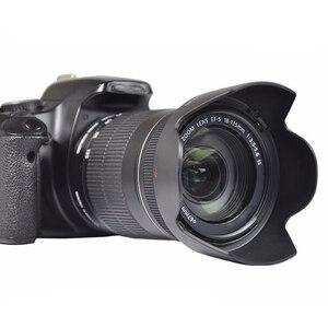 Image 2 - Centechia Camera Lens Hood For EW 73B EW 73B Canon 60D 70D 600D 17 85 18 135 Lens Hood Lens Protector