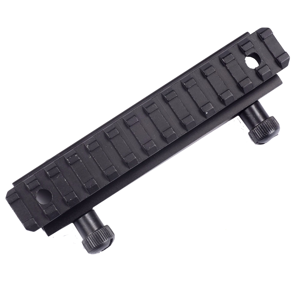 Tactical 135mm Long Scope 20mm Riser Base Mount Adapter Bracket For Picatinny/Weaver Rail Riser Mount Caza Hunting Accessories