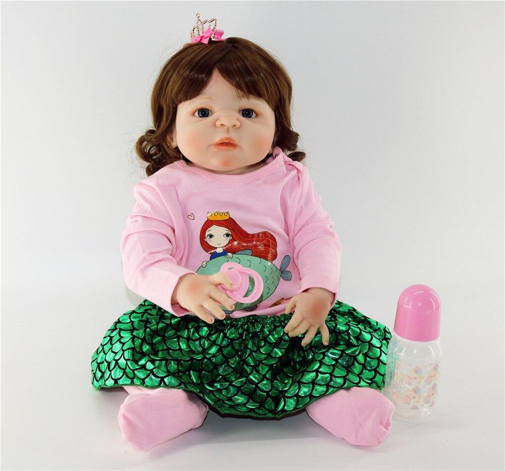 Sirène habiller poupée Bebes renaître 23