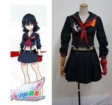 Убить ла убить Matoi Ryuuko косплей костюм для девочек аниме одежда Японский школьная форма юбка костюм Карнавальный костюм На Заказ