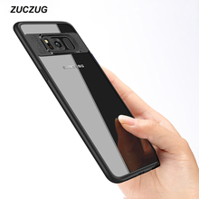 hot deal buy zuczug luxury case for samsung galaxy s8 plus ultra thin capinhas pc & tpu silicone cover case for galaxy s8 coque funda capa