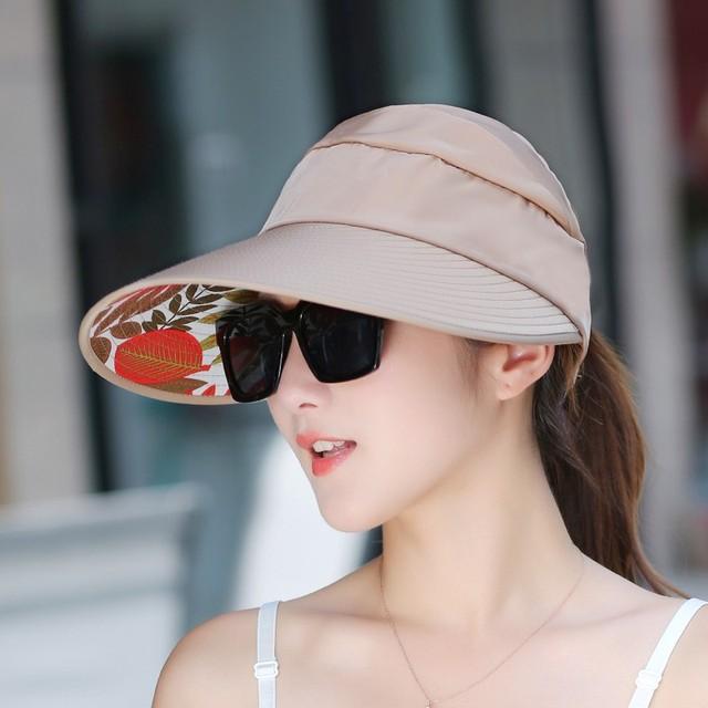 Vendita calda Cappelli di Sun sun visor Cappelli di Sun per le donne con  grandi teste ... aea92a3e316e