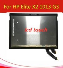 B130KAN01.0 H/W:0A F/W: 1 LCD LED Touch Screen For HP Elite X2 1013 G3 Laptop Lcd Assembly replacement 1920*1280 MIPI interface(China)