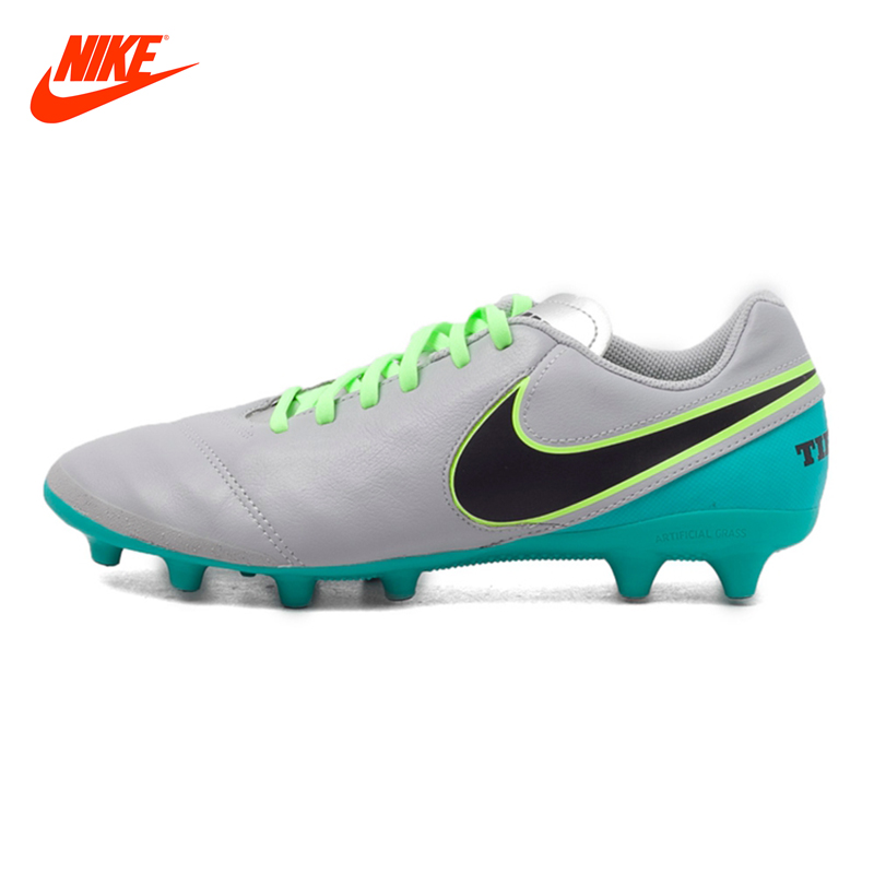 Original New Arrival NIKE Men's Comfortable Football/Soccer Shoes Sneakers kelme football shoes boots for adult children 30 39 train sneakers tobillera soccer cleats zapatillas deporte light soft flats49