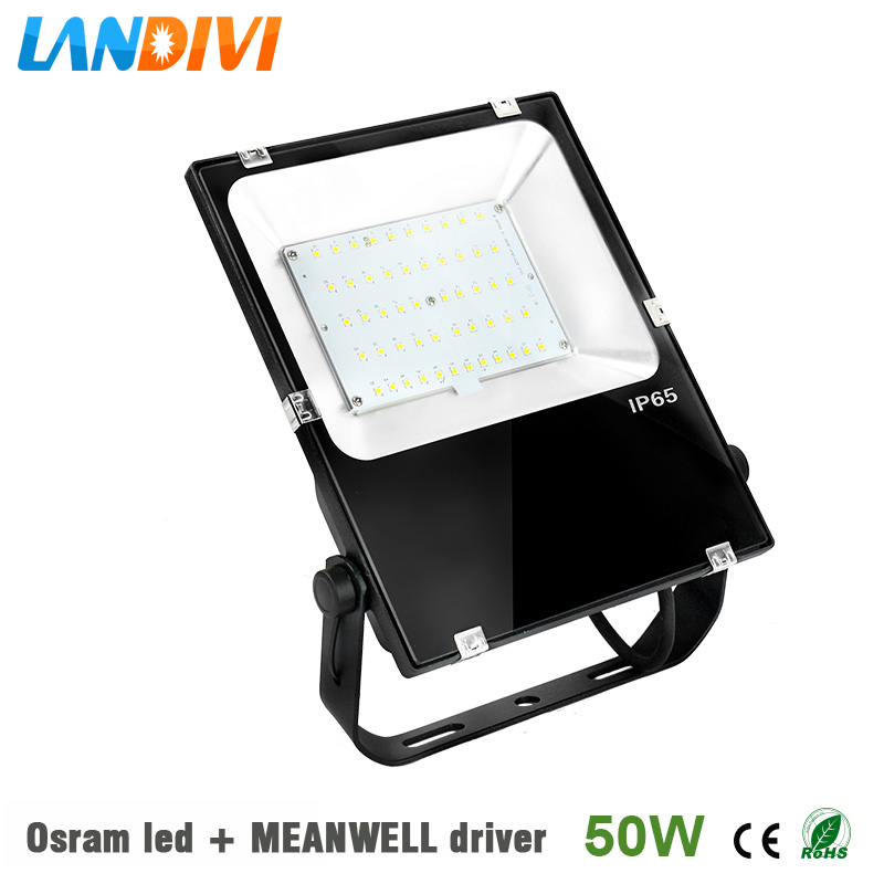 50w led flood light outdoor Osram led chip ultrathin 5years warranty IP65 waterproof spot lighting 30% off 2pcs ultrathin led flood light 50w black ac85 265v waterproof ip66 floodlight spotlight outdoor lighting free shipping