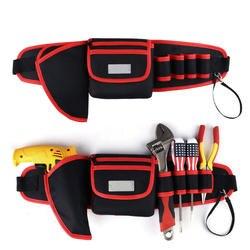Высокое качество ремень сумки для инструментов электрические сверла 600D ткань Оксфорд Универсальный Прочный карман