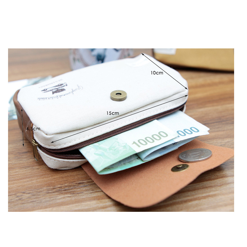 Multifunction Women Coin Purse Fashion Pattern Lovely Small Bag Clutch Wallet Zero Wallet 15*10cm