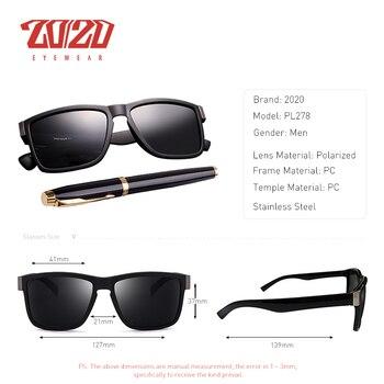 Classic Black Frame Polarized Sunglasses 1